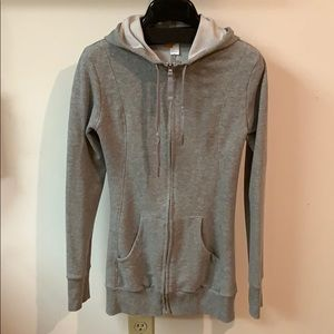 Long hoodie sweatshirt, worn once!